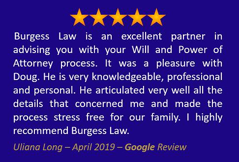 Uliana Long - April 2019 - Google Review
