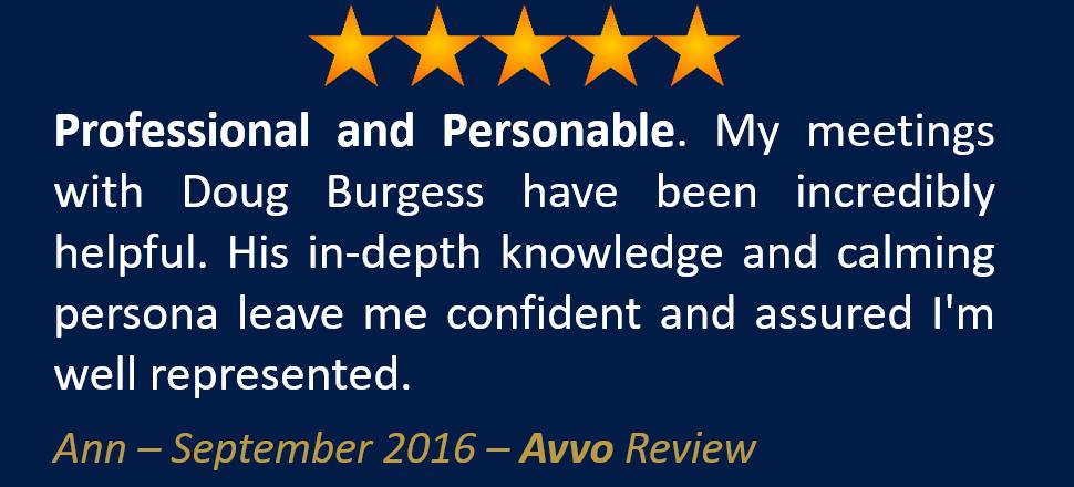 Ann September 2016 Avvo Review