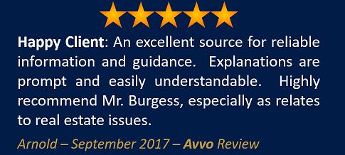 Arnold September 2017 Avvo Review