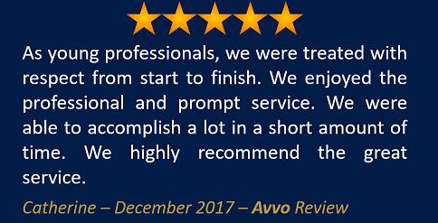 Catherine December 2017 Avvo Review