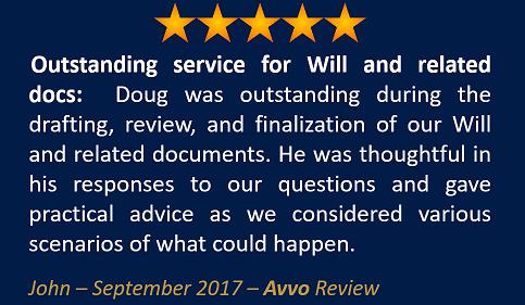 John September 2017 Avvo Review