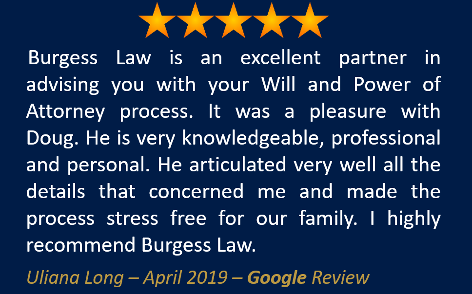 Uliana Long April 2019 Google Review